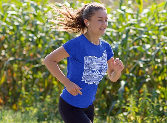 Run Your State Runner's T-Shirt