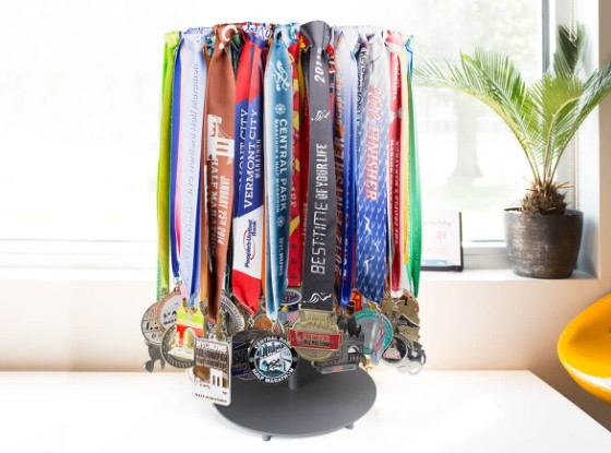 Shop Our Tabletop Medal Displays for Runners