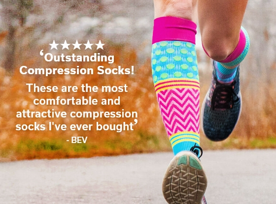 Shop Our Compression Socks For Runners