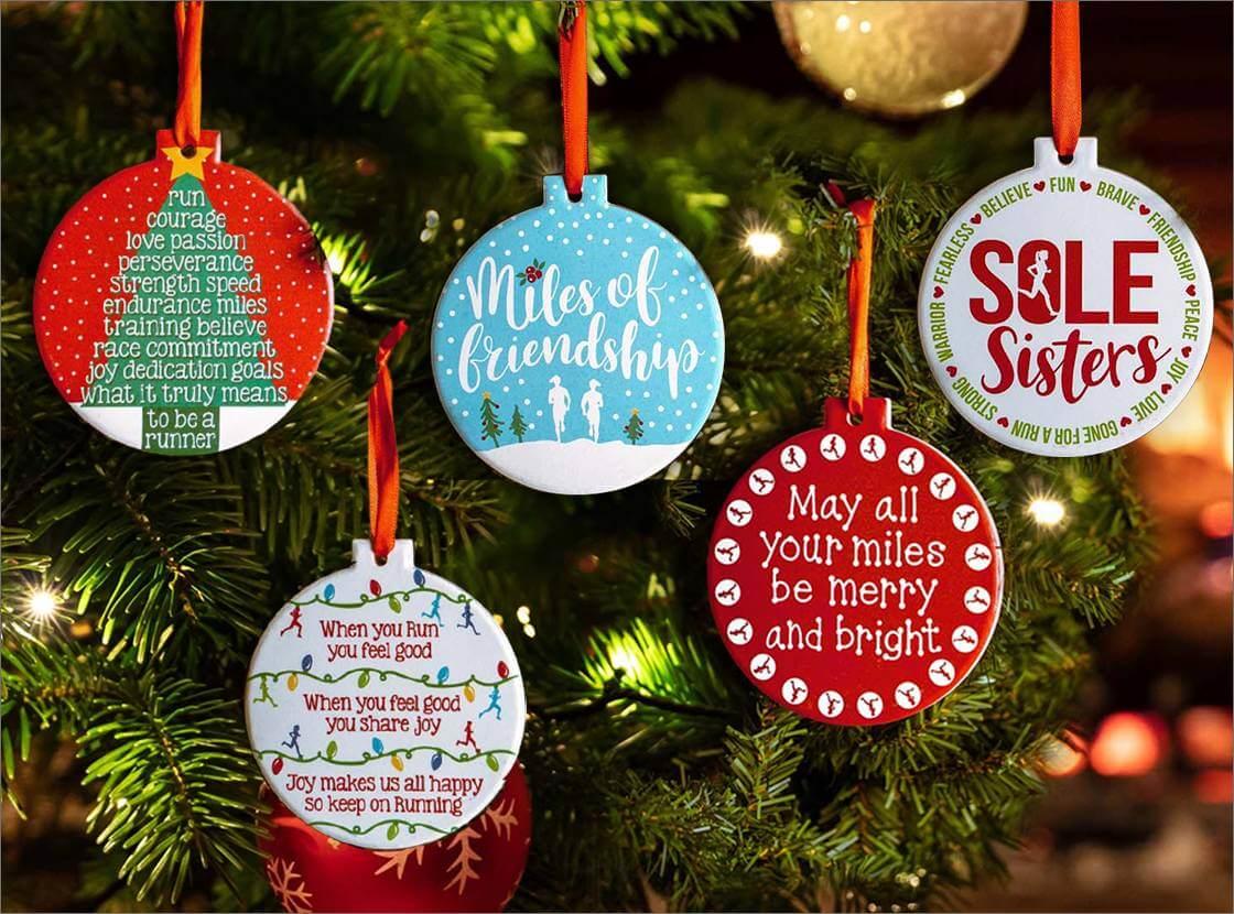 Running Buddy Ornament Running Gifts Ornaments Run Gifts Runner Christmas Runner Ornament Running Running Ornaments Friend Gifts