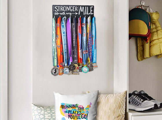 Shop our Small Hooked on Medal Hangers