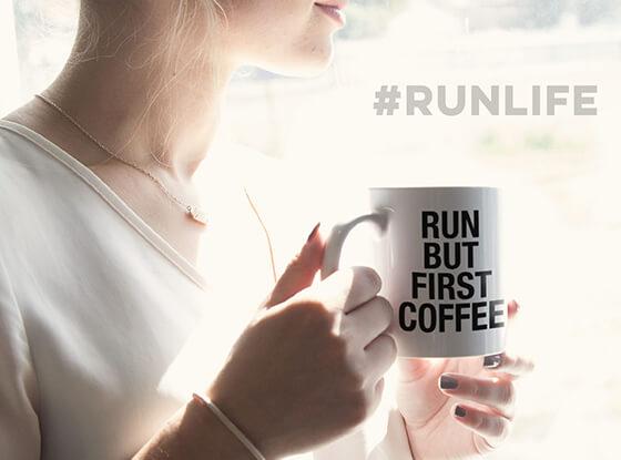 Run But First Coffee