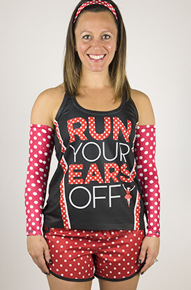 Run Your Ears Off Running Outfit
