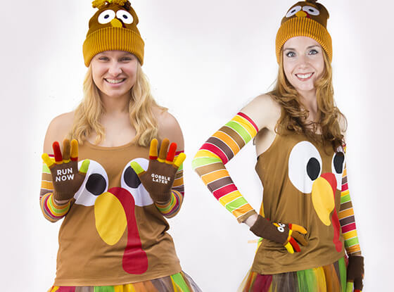 Goofy Turkey Outfit