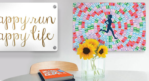Running Metal Wall Art