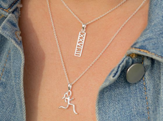Gone For A Run Runners Necklace