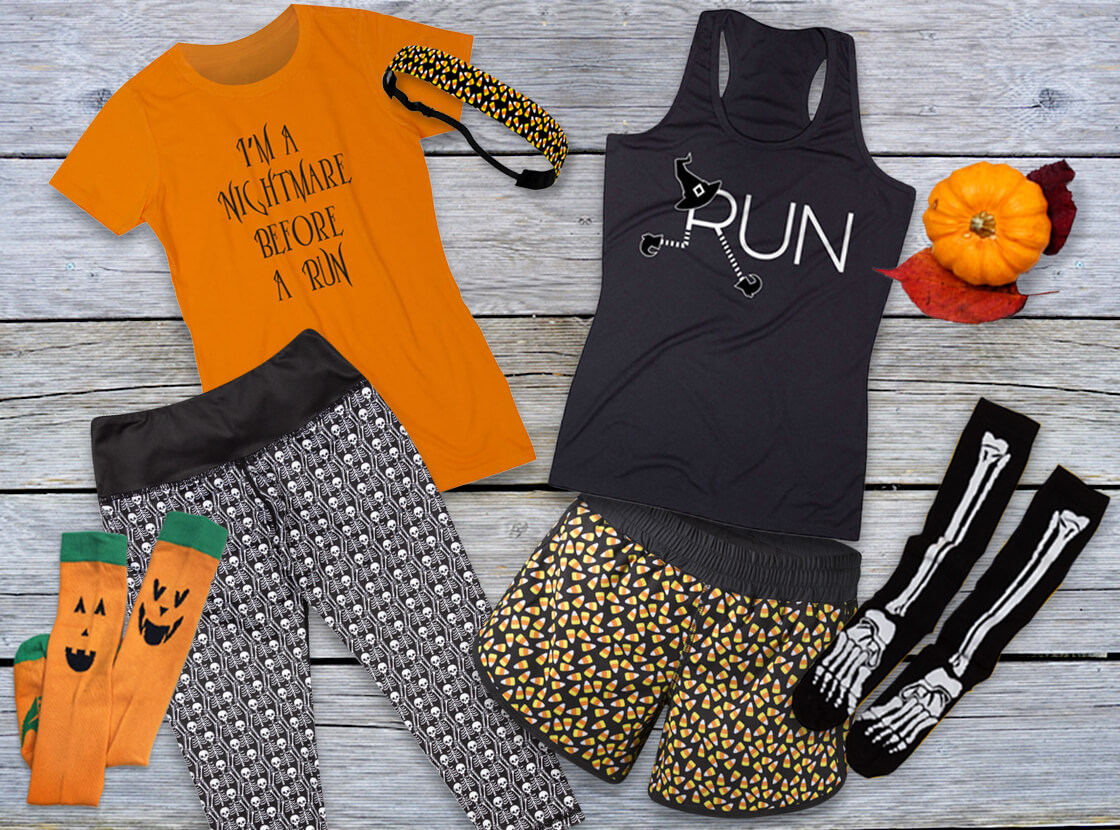 Shop Our Running Halloween Apparel