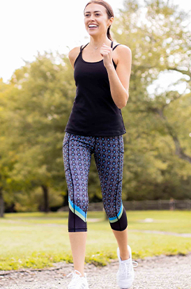 Shop Our Day of the Run Performance Capris