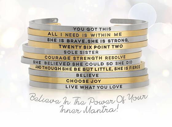 Inspire Me Cuff Bracelets
