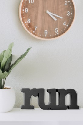 Shop Our Decorative Wood Words for Runners