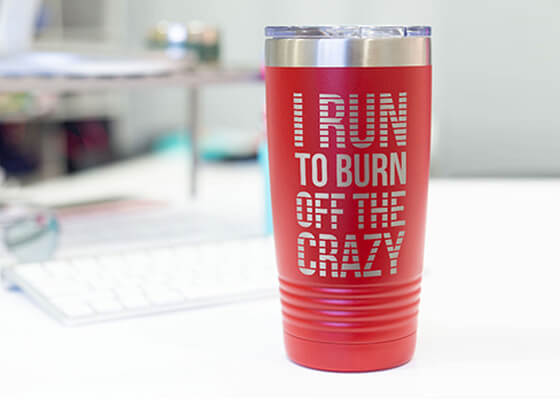 Shop Our Running Travel Mugs