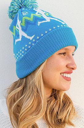 73540af3889 Shop Runner Girl Pom Pom Knit Hat
