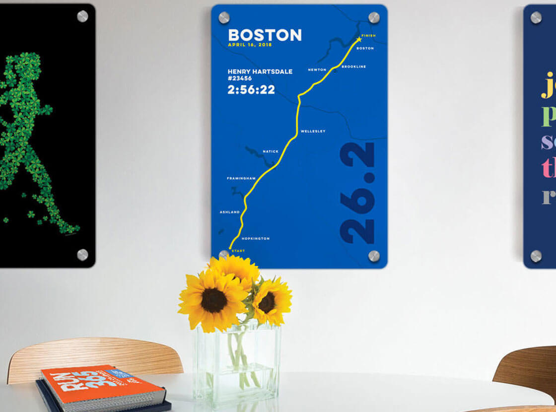 Shop Boston 26.2 Wall Art