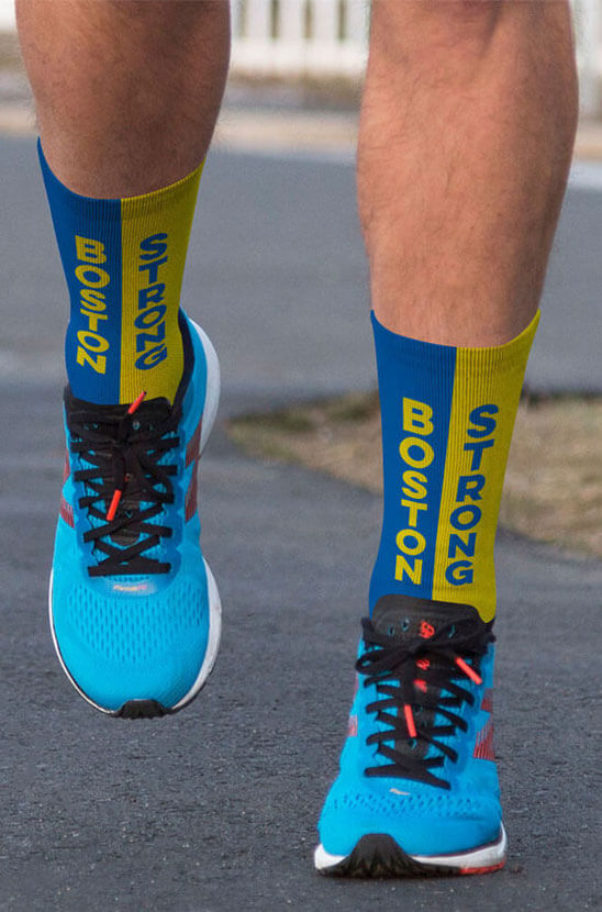 Shop Our Boston Strong Socks