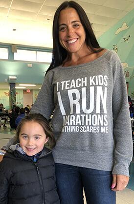 Shop I Teach Kids Wide Neck Sweatshirt