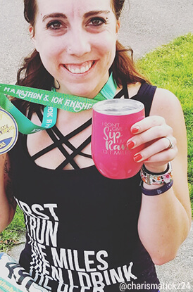 Shop our 13.1 Miles Wine Tumbler