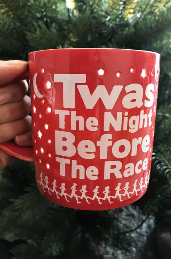 Shop Our Twas the Night Before the Race Coffee Mug