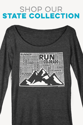Shope Our State Runner Long Sleeve Tees