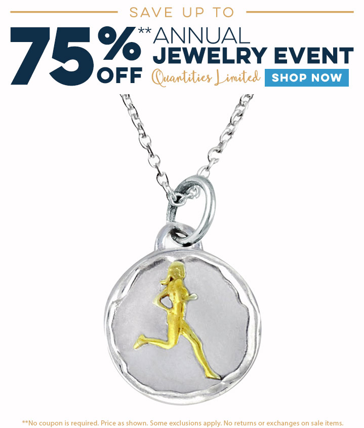 Up to 75% Off! Shop Our Annual Jewelry Sale