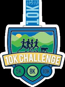 10K Challenge Medal