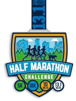 Half Marathon Virtual Training and Race Challenge Series