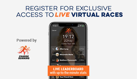 Run Gone For a Run Virtual Races Live with Training from Charge Running