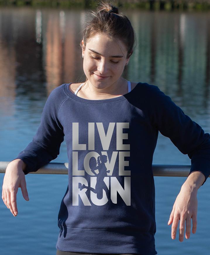 Women's Runner Sweatshirts