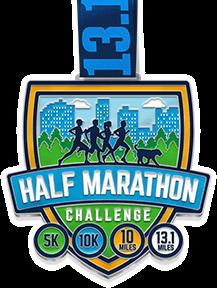 Half Marathon Challenge Medal
