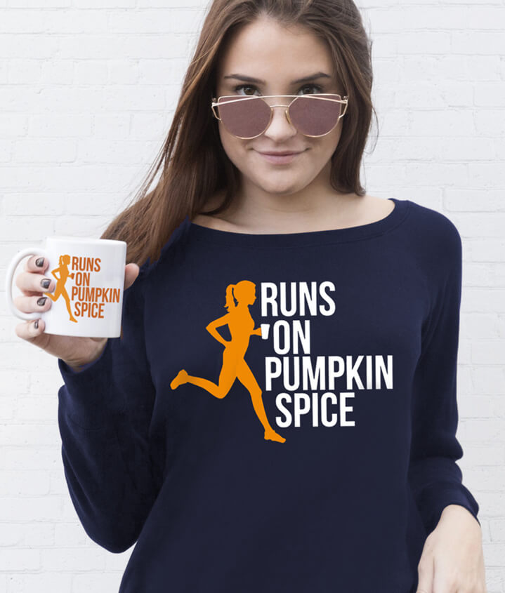 Runs On Pumpkin Spice
