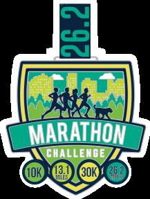 Marathon Challenge Medal