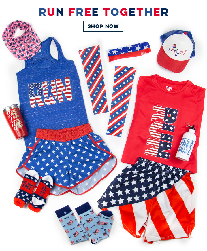 Patriotic Runner Gear