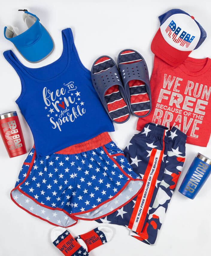 Patriotic Gear for Runners