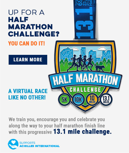 Complete The Gone For a Run Half-Marathon Challenge