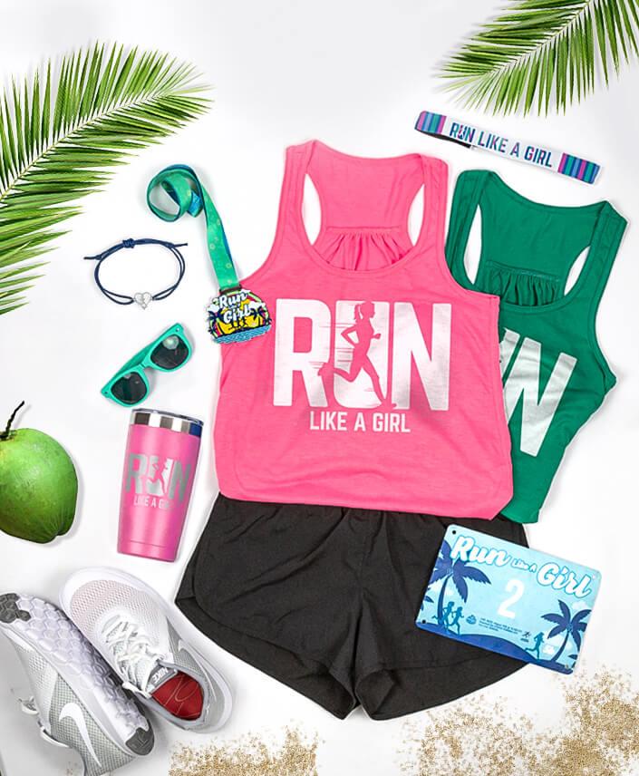 Run Like a Girl Virtual Race