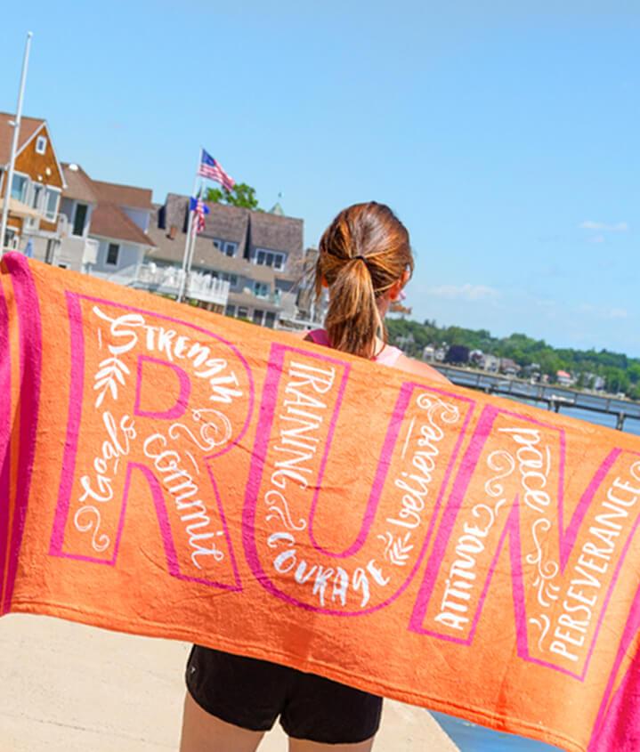 Runner Beach Towels